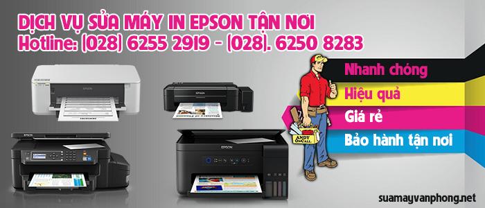 Dịch vụ sửa máy in Epson tận nơi giá rẻ