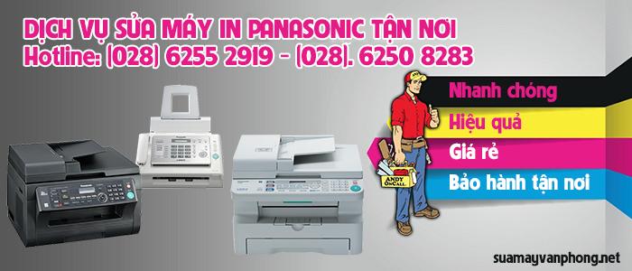 Dịch vụ sửa máy in Panasonic giá rẻ