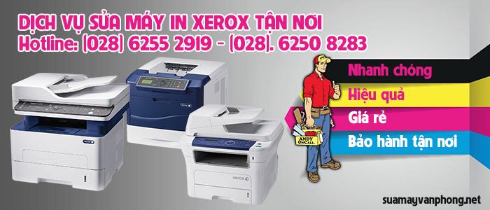 Dịch vụ sửa máy in Xerox tận nơi giá rẻ