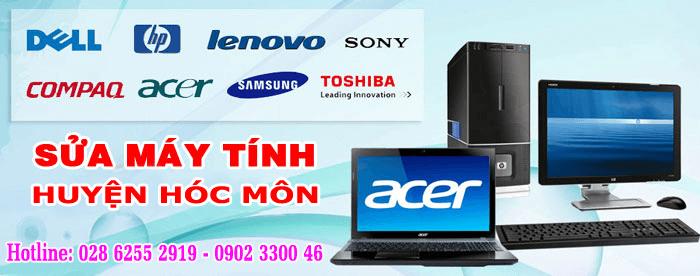 sửa máy tính huyện Hóc Môn