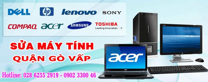 Dịch vụ sửa máy tính tại quận Gò Vấp TPHCM