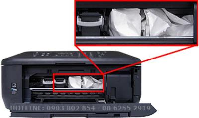 khắc phục máy in bị kẹt giấy