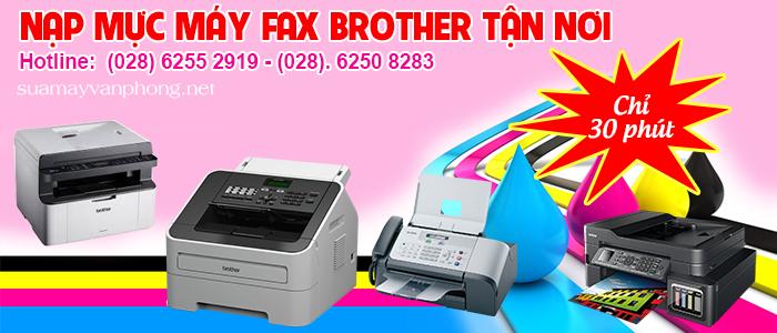 Nạp mực máy fax Brother tận nơi