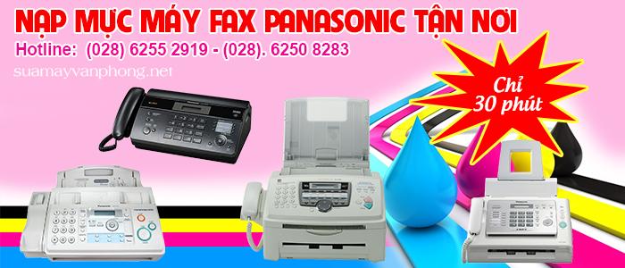 Nạp mực máy fax panasonic giá rẻ