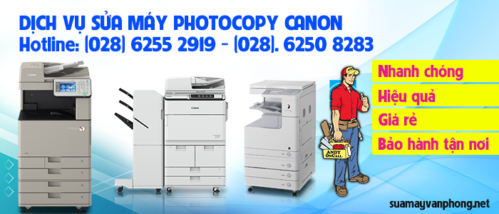 Dịch vụ sửa máy photocopy canon giá rẻ