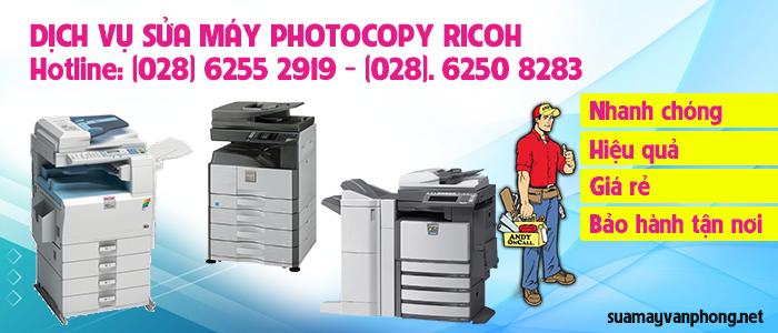 Dịch vụ sửa máy photocopy Ricoh giá rẻ