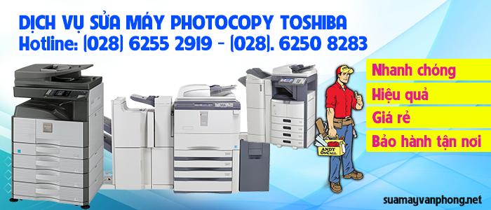 Dịch vụ sửa máy photocopy Toshiba