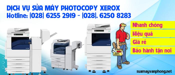 Dịch vụ sửa máy photocopy Xerox giá rẻ